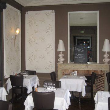 Réalisation de décoration de restaurant par Brochard peinture